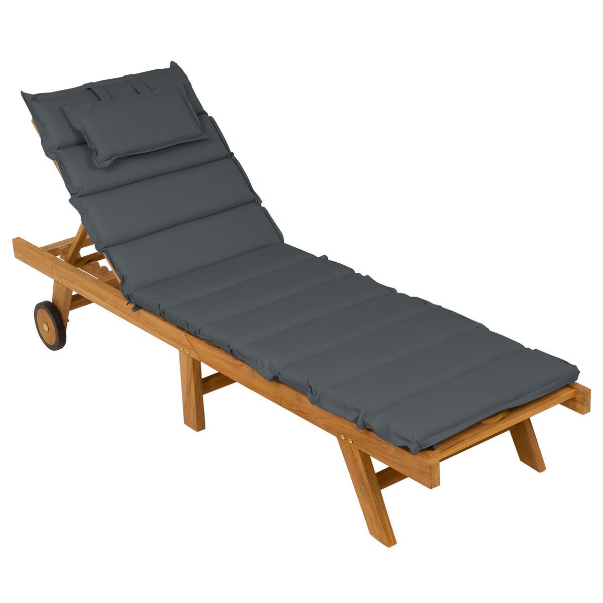 Full Size of Divero Sonnenliege Gartenliege Klappbar Teak Holz Behandelt Ausklappbares Bett Ausklappbar Wohnzimmer Gartenliege Klappbar