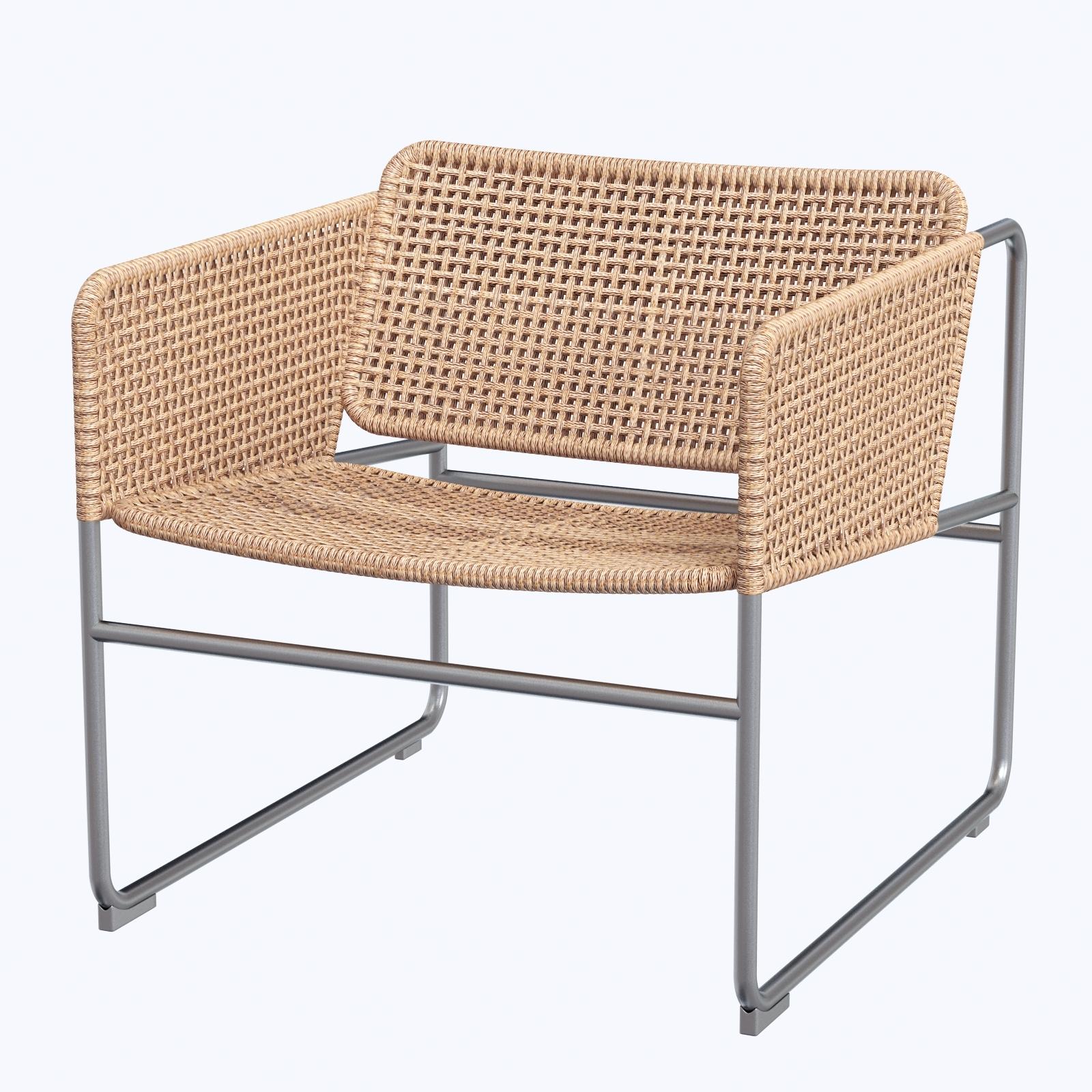 Full Size of Sessel Ikea Industriell Naturgrau 3d Modell Turbosquid 1319767 Hängesessel Garten Miniküche Betten 160x200 Schlafzimmer Küche Kaufen Bei Sofa Mit Wohnzimmer Sessel Ikea