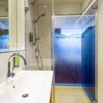 Glastrennwand Dusche Badezimmer Badgestaltung Begehbare Duschen Fliesen Für Badewanne Mit Tür Und Unterputz Armatur Glastür 80x80 Koralle Dusche Glastrennwand Dusche