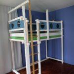 Sprossenwand Kinderzimmer Klettern Am Hochbett Oder Etagenbett Billi Bolli Regal Weiß Sofa Regale Kinderzimmer Sprossenwand Kinderzimmer