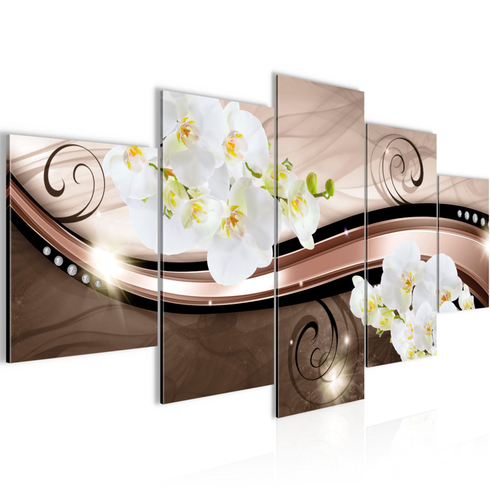 Full Size of Wanddeko Modern Dekoration Bilder Drucke 3tlg Blumen Leinwand Esstisch Küche Holz Moderne Esstische Weiss Landhausküche Modernes Sofa Deckenleuchte Wohnzimmer Wanddeko Modern