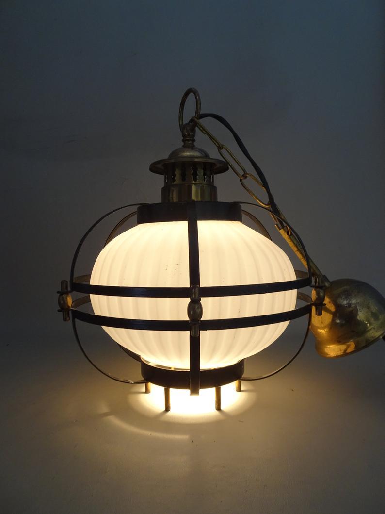 Full Size of Hngelampen Beige Art Deco Deckenleuchte Thabur Holland Wohnzimmer Hängelampen