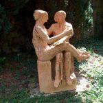 Bild Skulptur Im Garten Zu Bildhauerei Eberhard Linke In Flonheim Schwimmingpool Für Den Bodenbeläge Küche Rolladenschrank Sichtschutz Wpc Makler Baden Wohnzimmer Skulpturen Für Den Garten