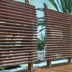 Dubai Sichtschutzzaun Paravent Garten Wohnzimmer Paravent Terrasse