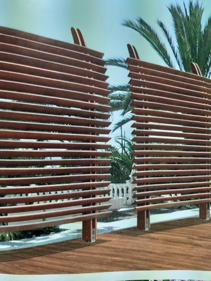 Medium Size of Dubai Sichtschutzzaun Paravent Garten Wohnzimmer Paravent Terrasse