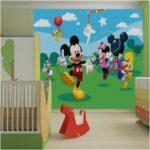 Fototapeten Kinderzimmer Kinderzimmer Nice Kinderzimmer Mickey Mouse Frisch Fototapeten Wohnzimmer Regale Sofa Regal Weiß