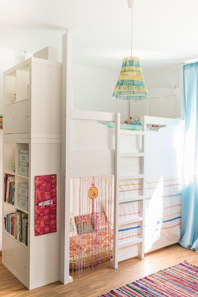 Full Size of Hochbett Kinderzimmer Ein Selbst Gebautes Im Leelah Loves Sofa Regal Regale Weiß Kinderzimmer Hochbett Kinderzimmer