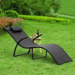 Gartenliege Klappbar Sobuy Ogs45 Sch Sonnenliege Relaxstuhl Ausklappbares Bett Ausklappbar Wohnzimmer Gartenliege Klappbar