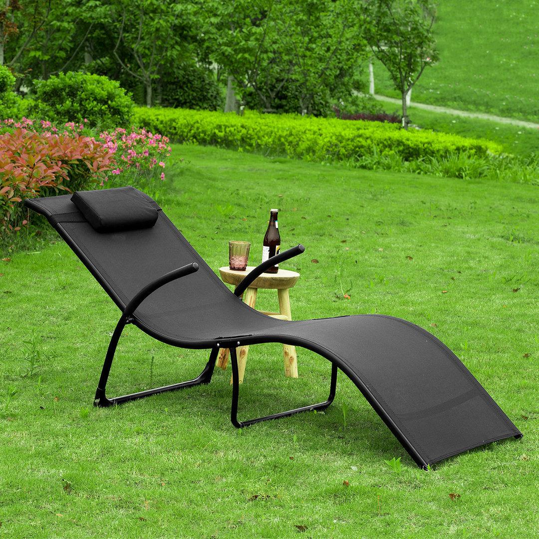 Full Size of Gartenliege Klappbar Sobuy Ogs45 Sch Sonnenliege Relaxstuhl Ausklappbares Bett Ausklappbar Wohnzimmer Gartenliege Klappbar
