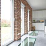 Küchenwand Wohnzimmer Küchenwand Kchenrckwand Steinoptik Aus Steinverblendern Riemchenwerk