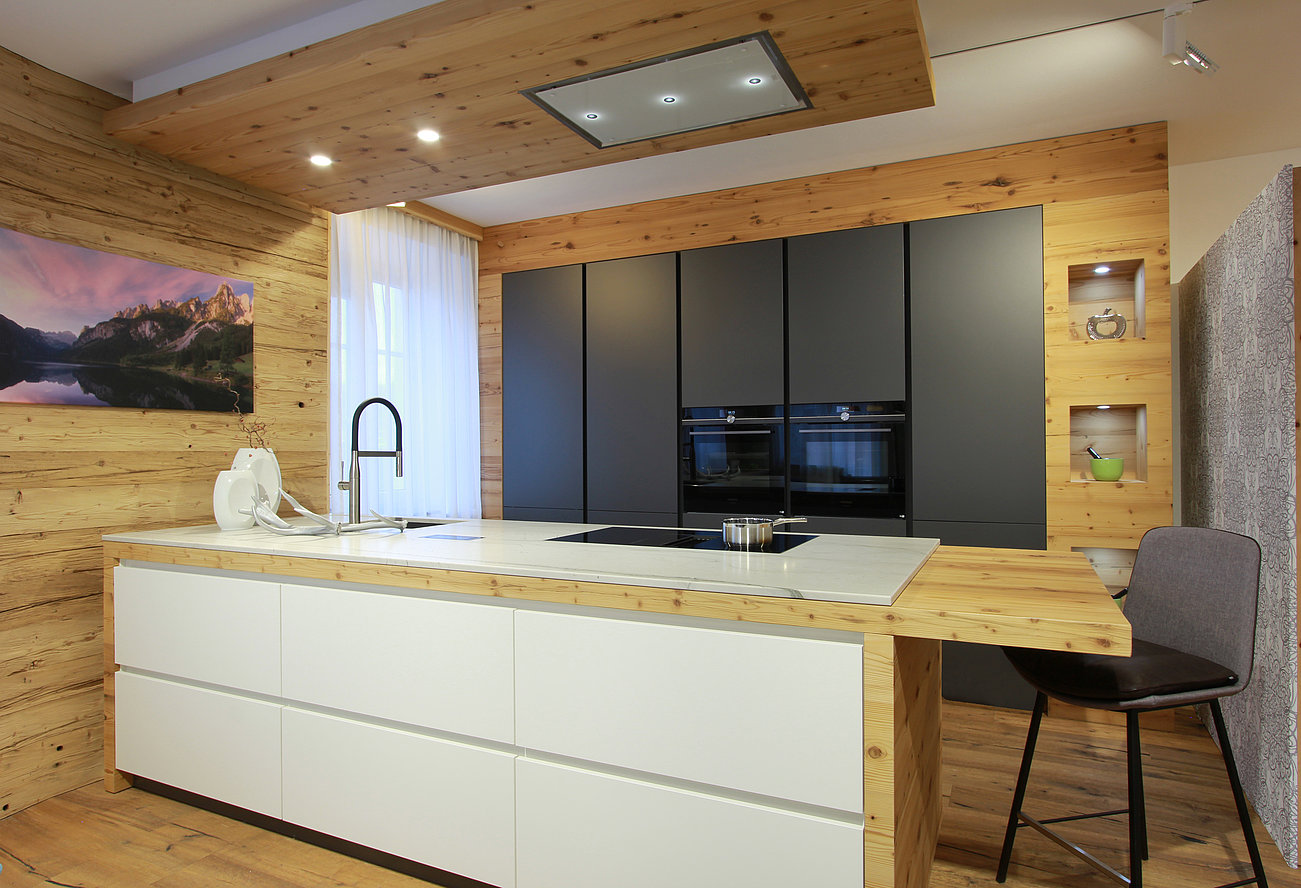 Full Size of Holzküchen Wohnzimmer Holzküchen