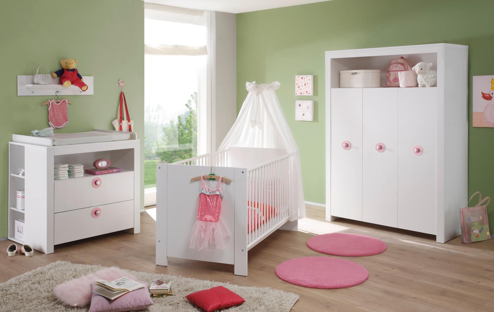 Full Size of Komplett Kinderzimmer Babyzimmer Olivia Wei Set 5 Teilig Badezimmer Schlafzimmer Weiß Komplettküche Günstige Sofa Komplettes Dusche Mit Lattenrost Und Kinderzimmer Komplett Kinderzimmer
