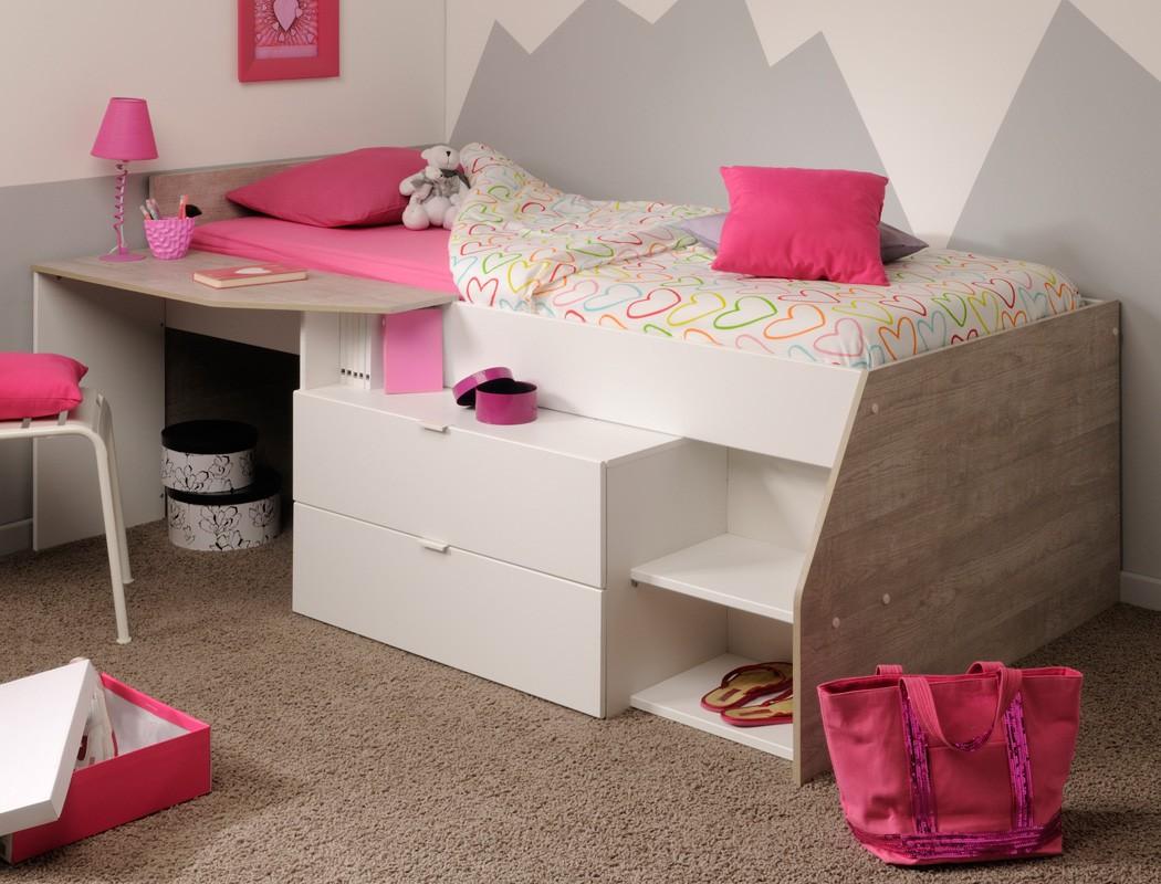 Full Size of Hochbett Mika Fr Mdchen Und Jungen 90x200cm Bett Mädchen Betten Wohnzimmer Kinderbett Mädchen