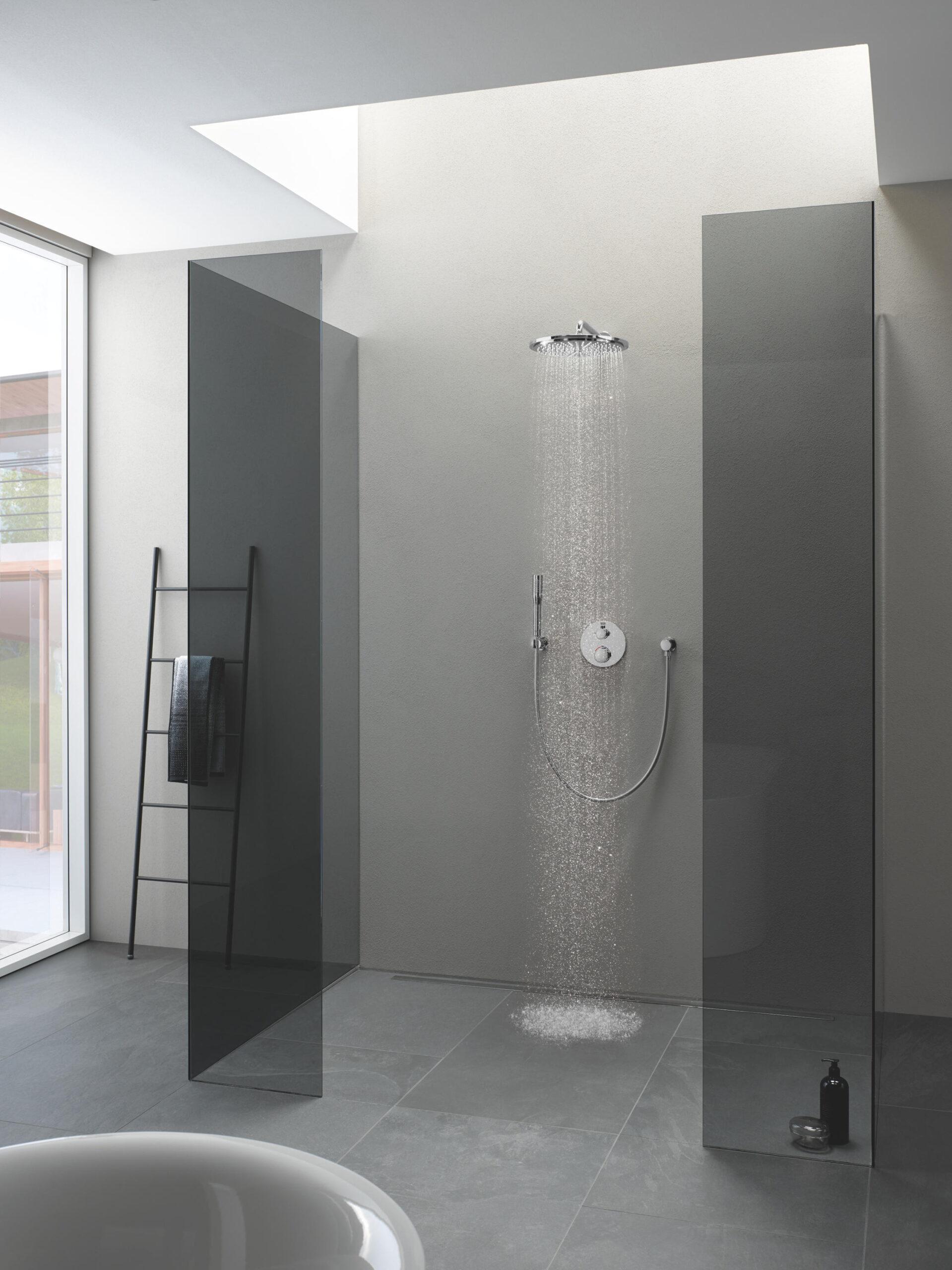 Full Size of Grohe Thermostat Dusche Defekt Wechseln Unterputz Aufputz Duschstange Montage Armatur Einhebelmischer Ersatzteile Einhandmischer Hinter Dem Vorhang Dusche Grohe Dusche