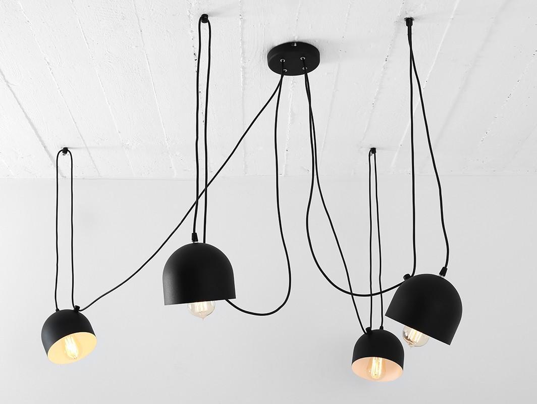 Full Size of Hngelampe Popo 4 Schwarz Nur Bei Hngelampen Wohnzimmer Hängelampen