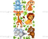 Wandtattoo Kinderzimmer Tiere