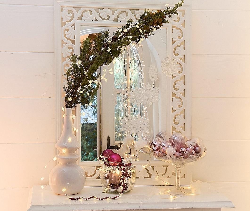 Full Size of Wanddeko Ideen Weihnachtliche Dekoideen Mit Lichterketten Bad Renovieren Wohnzimmer Tapeten Küche Wohnzimmer Wanddeko Ideen