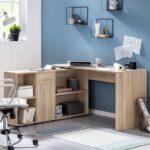 Regal Schreibtisch Integriert Ikea Mit Selber Bauen Klappbar Kombination Finebuy Suva11905 1 Usm Körben Glasregal Bad Kleiderschrank Designer Regale Für Regal Regal Schreibtisch