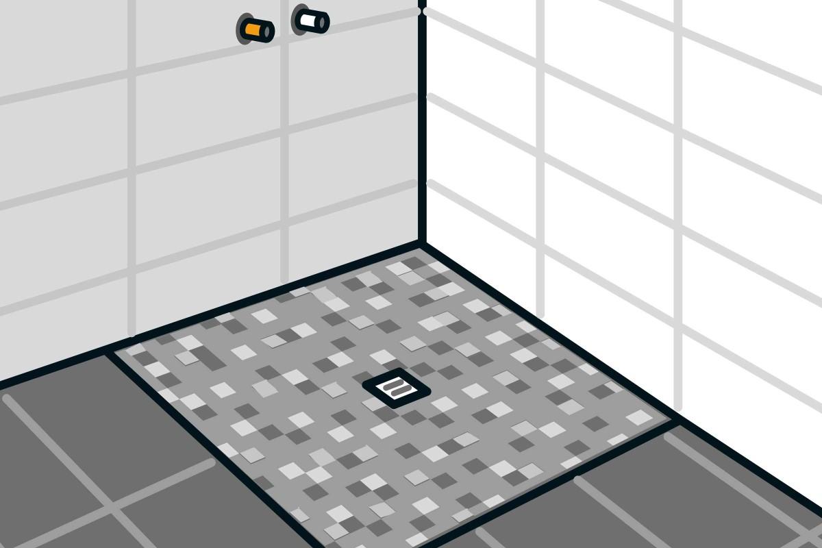 Full Size of Bodengleiche Dusche Einbauen Punktentwsserung Anleitung Von Nachträglich Begehbare Fliesen Nischentür Duschen Walk In Pendeltür Ebenerdig Kaufen Moderne Dusche Bodengleiche Dusche Einbauen