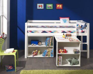 Kinderzimmer Hochbett Kinderzimmer Kinderzimmer Hochbett Funktionsbett Pino Mit Schreibtisch Regal Leiter Regale Weiß Sofa