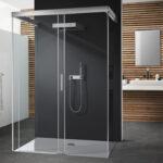 Bodengleiche Dusche Dusche Bodengleiche Dusche Nischentür Walkin Fliesen Bluetooth Lautsprecher Begehbare Mischbatterie Bodenebene Badewanne 80x80 Glastrennwand Duschen Bodengleich