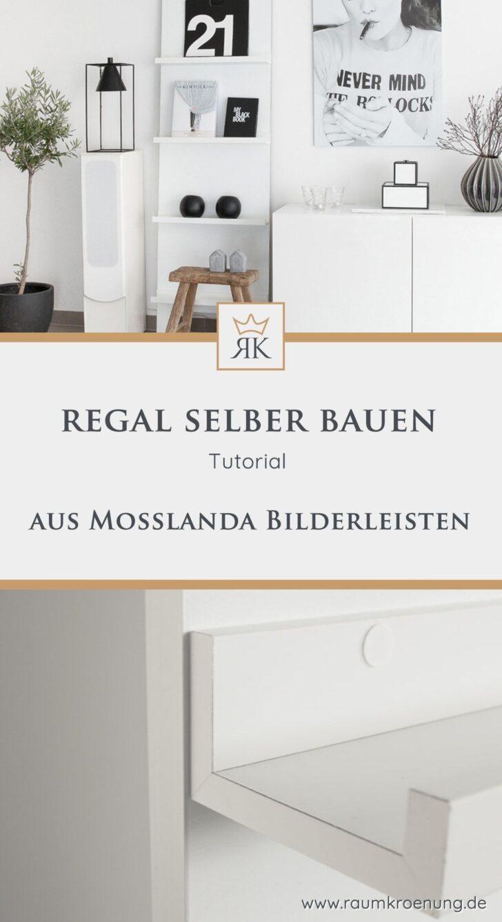 Medium Size of Regal Günstig Ikea Hack Gnstig Selber Bauen Aus Mosslanda Bilderleisten Werkstatt Würfel Für Kleidung Getränkekisten Mit Schreibtisch Amazon Regale Sofa Regal Regal Günstig