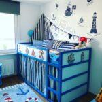 Kinderzimmer Jungs Kinderzimmer Kinderzimmer Ideen Jungs 5 Jahre Deko Junge Diy 8 2 Jungen Bett Pirat Maritim Zimmer Regal Sofa Regale Weiß