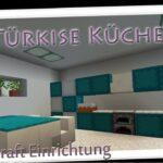 Minecraft Küche Trkise Kche Einrichten In Youtube Miniküche Landhausküche Grau Küchen Regal Planen Ikea Kosten Schwingtür Glaswand Fototapete Mit E Wohnzimmer Minecraft Küche
