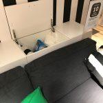 Ikea Hängeschrank Wohnzimmer Ikea Kchen Hngeschrank Liegend Als Stauraum Hinter Dem Sofa Bad Hängeschrank Weiß Hochglanz Küche Höhe Modulküche Wohnzimmer Kosten Badezimmer Miniküche