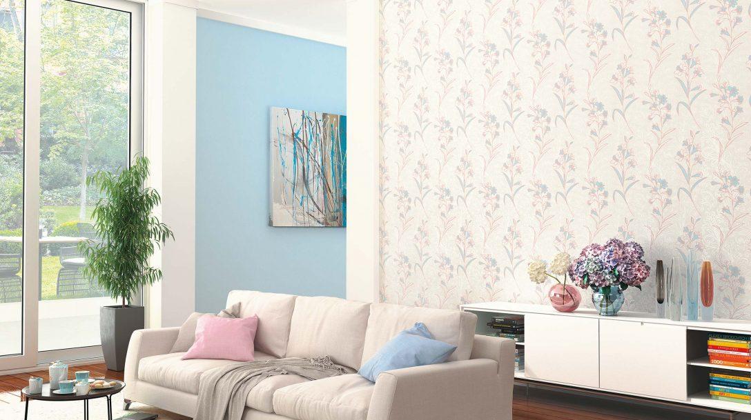 Large Size of Vliestapete Calluna Wohnzimmer Rb 451 Hsjpg Erismann Cie Gmbh Led Deckenleuchte Wandbilder Heizkörper Deckenlampen Lampe Poster Modern Teppich Pendelleuchte Wohnzimmer Vliestapete Wohnzimmer