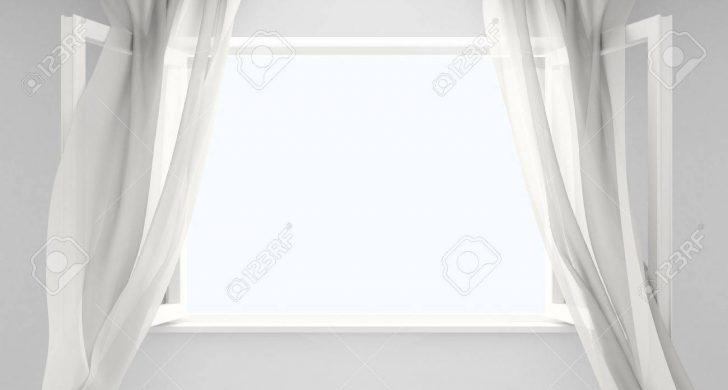 Medium Size of Ffnen Sie Das Fenster Mit Gardinen Von Einem Wind Entwickelt Schüco Online Dreh Kipp Alarmanlage Jalousien Innen Drutex Standardmaße Jalousie Neue Kosten Wohnzimmer Gardinen Fenster