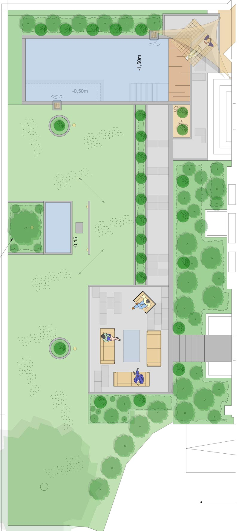 Full Size of Garten Mit Pool Gestalten Anlegen Mieten Kaufen Nrw Bilder Obi Kleinen Bremen Knolle Harpstedt Whirlpool Aufblasbar Bett Schubladen 90x200 Weiß 180x200 Wohnzimmer Garten Mit Pool