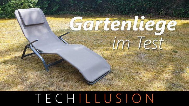 Medium Size of Liegestuhl Aldi Gartenliege Von Im Test 20 Klappliege Review Garten Relaxsessel Wohnzimmer Liegestuhl Aldi