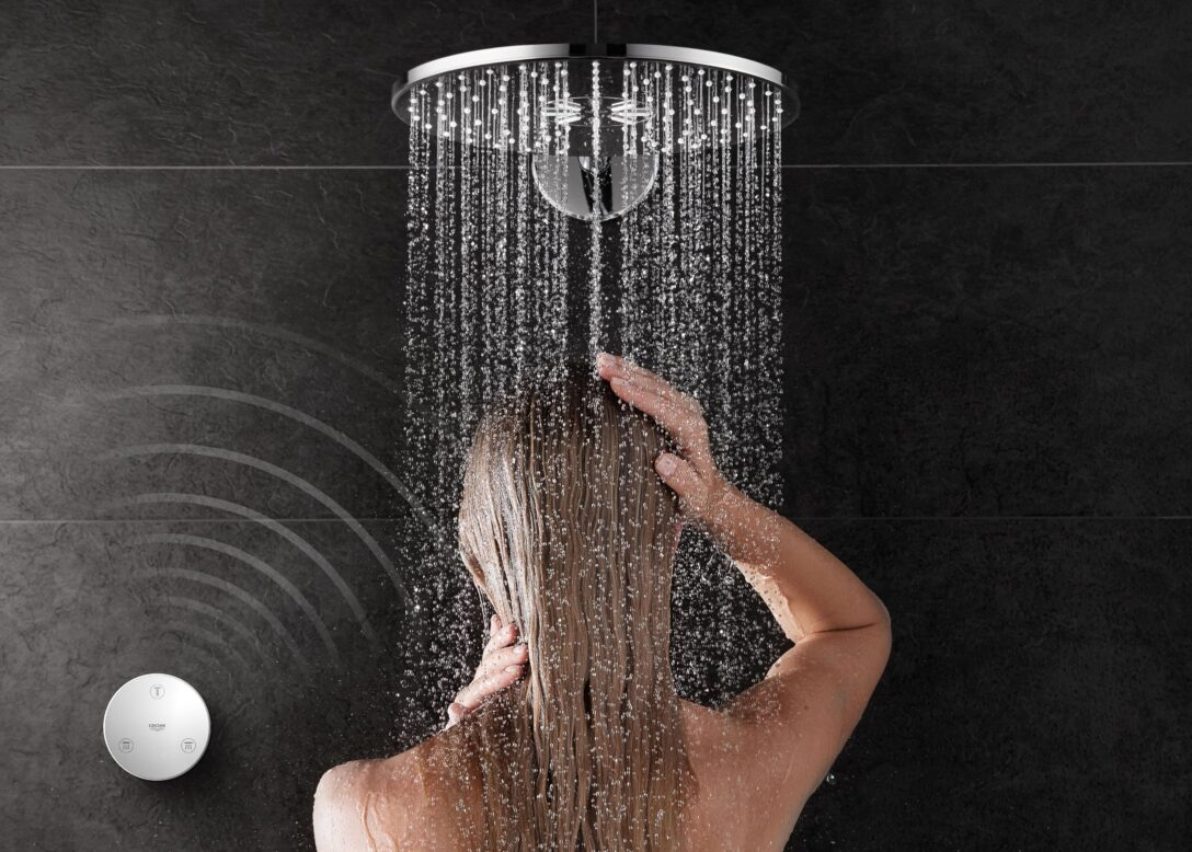 Large Size of Einfaches Upgrade Bestehender Duschsysteme Mit Grohes Rainshower Glastür Dusche Mischbatterie Bodengleich Unterputz Eckeinstieg Koralle Schulte Duschen Dusche Rainshower Dusche