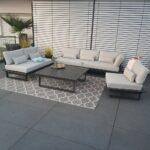 Terrassen Lounge Wohnzimmer Garten Loungemöbel Lounge Sofa Set Günstig Sessel Möbel Holz