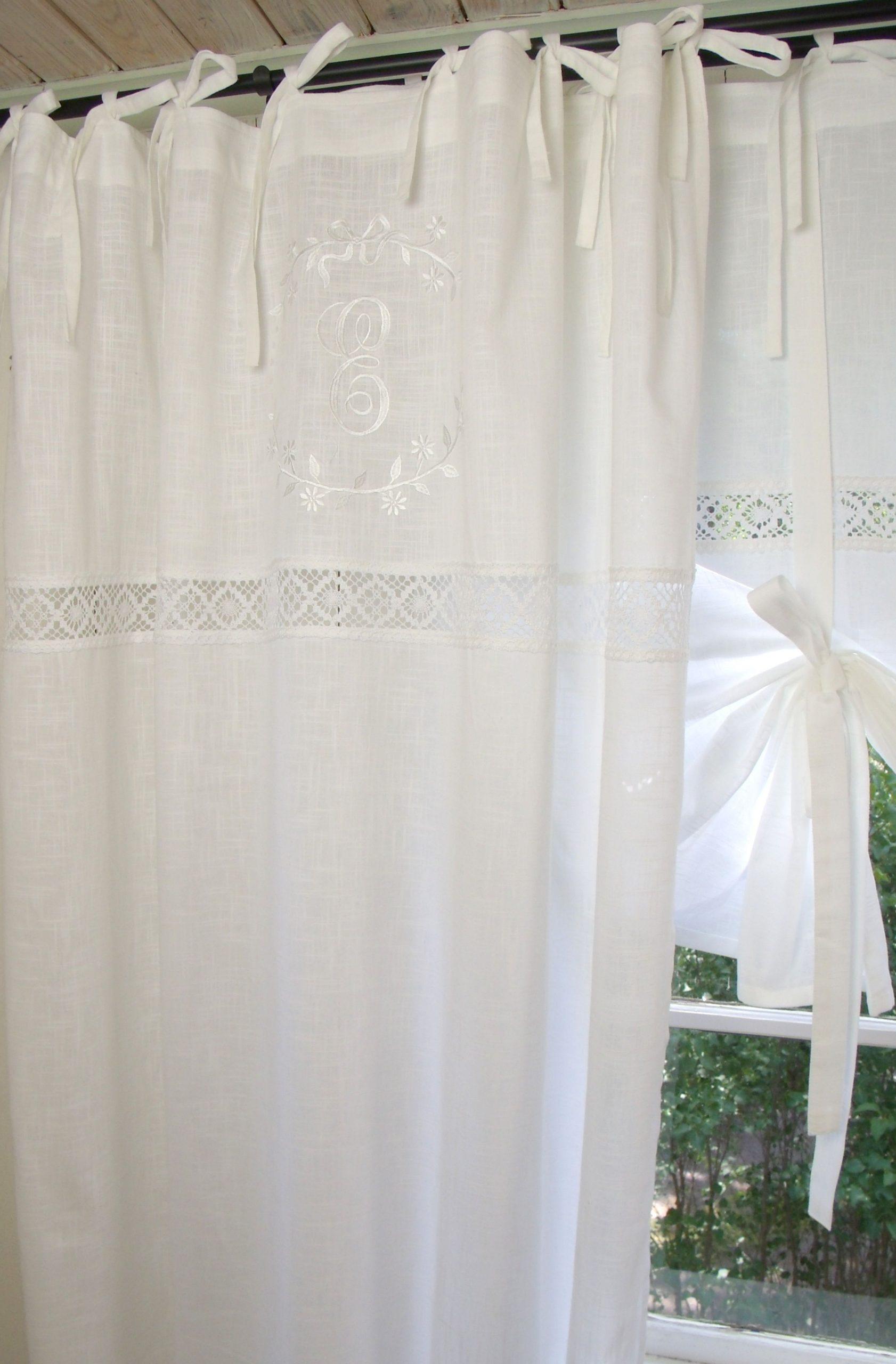 Full Size of Vorhang Emilia Wei Gardine 140x300 Cm 2 Stck Vorhnge Landhausstil Sofa Gardinen Für Küche Schlafzimmer Fenster Wohnzimmer Bad Scheibengardinen Die Esstisch Wohnzimmer Gardinen Landhausstil