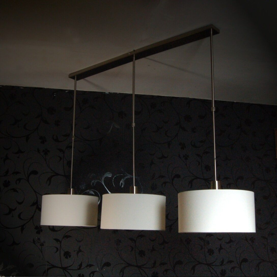 Large Size of Neu H Ngelampe Toskana Ii Esstisch Leuchte 3 Schirme Creme Wei Wohnzimmer Deckenlampen Betonplatte Pendelleuchte Mit 4 Stühlen Günstig Buche Modern Lampen Esstische Deckenlampe Esstisch