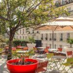 Terrassen Lounge 1875 Bar Terrasse Paris By Accor Möbel Garten Sessel Loungemöbel Holz Günstig Sofa Set Wohnzimmer Terrassen Lounge