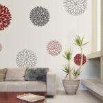 Wanddeko Ideen Wohnzimmer Wanddeko Ideen Idee Wandtattoo Blumen Wohnzimmer Tapeten Küche Bad Renovieren