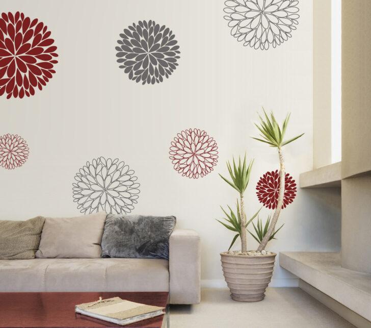 Medium Size of Wanddeko Ideen Idee Wandtattoo Blumen Wohnzimmer Tapeten Küche Bad Renovieren Wohnzimmer Wanddeko Ideen