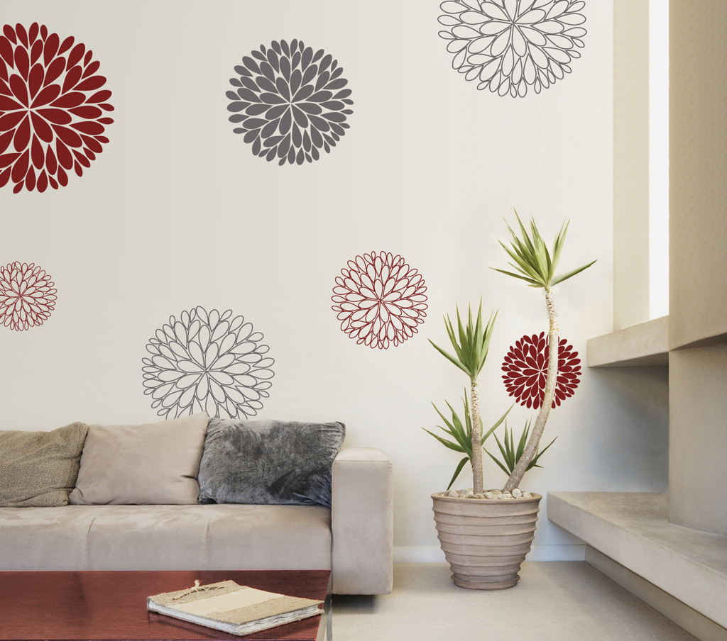 Full Size of Wanddeko Ideen Idee Wandtattoo Blumen Wohnzimmer Tapeten Küche Bad Renovieren Wohnzimmer Wanddeko Ideen