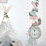Messlatte Kinderzimmer Indianer Lwe Und Freunde 1763 Minimidi Design Regal Regale Weiß Sofa Kinderzimmer Messlatte Kinderzimmer