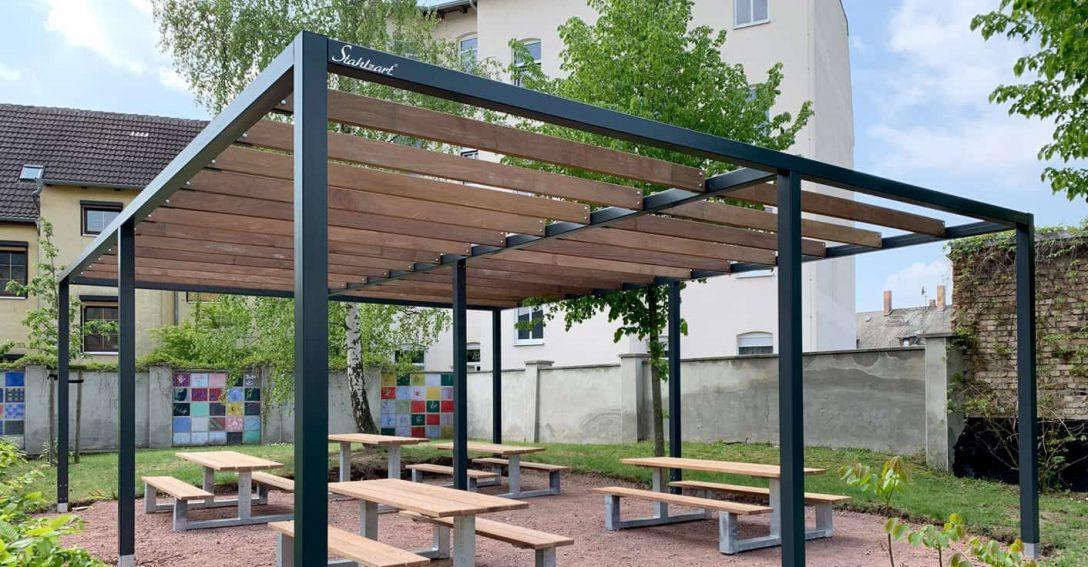 Pergola Metall Bausatz Freistehend Pergole Metallo ...
