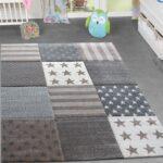 Teppichboden Kinderzimmer Kinderzimmer Kinderzimmer Teppich Stern Design Spielteppich Gemtlich Kinder Regal Regale Sofa Weiß