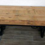 Esstisch Holzplatte Esstische Esstisch Holzplatte Esszimmer Tisch Massiv Holz Mango Industrial Design Eiche Esstische Massivholz Massiver Glas Ausziehbar Kolonialstil Grau Runder Venjakob