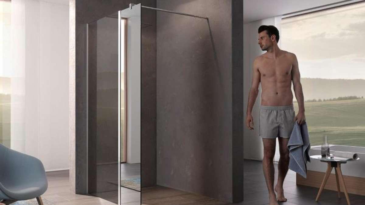 Full Size of Glaswand Dusche Ohne Tr Verbleibende Wand Muss Lang Genug Sein Wohnen Moderne Duschen Haltegriff Nischentür Begehbare Sprinz Einbauen Kaufen Komplett Set Dusche Glaswand Dusche
