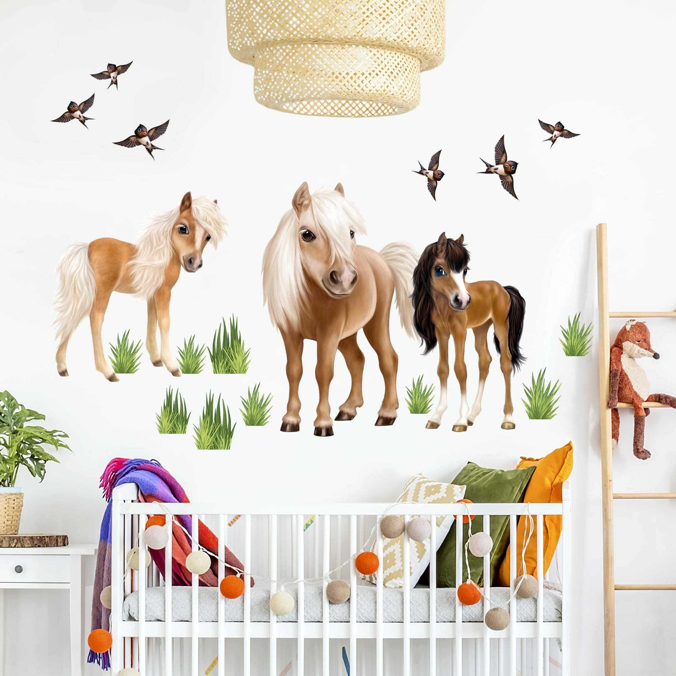 Full Size of Kinderzimmer Pferd Wandtattoo Animal Club International Set Pferde Sofa Regal Weiß Regale Kinderzimmer Kinderzimmer Pferd