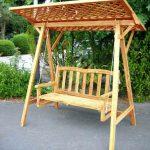 Gartenliege Schaukel Schaukeln Mit Schaukelfunktion Holz Schaukelliege Doppel Schaukelstuhl Liegestuhl Kinderschaukel Garten Für Wohnzimmer Gartenliege Schaukel