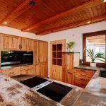 Holzküchen Kchenwelten Echtholzkchen Fr Nossen Wohnzimmer Holzküchen