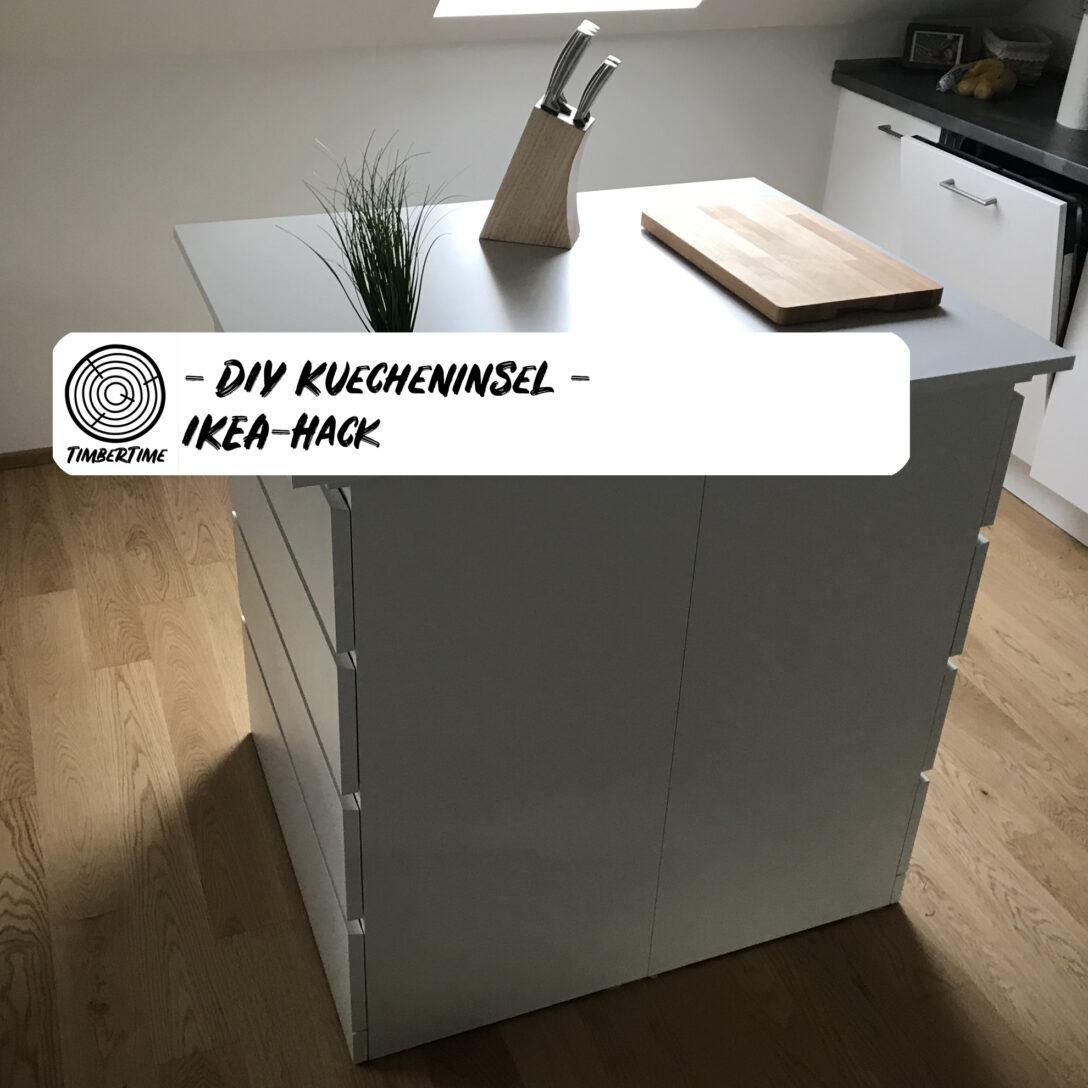 Large Size of Kücheninsel Diy Kcheninsel Selber Bauen Ikea Hack Wohnzimmer Kücheninsel